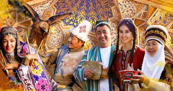 foto Asia central